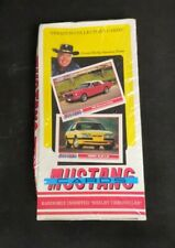 1991 Carroll Shelby Mustang Collector Trading Cards Series 1 Box 32 Packs Sealed