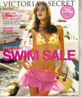 Victoria's Secret Preview to SWIM Sale 2005 Vol1 Catalog Alessandra Naomi C