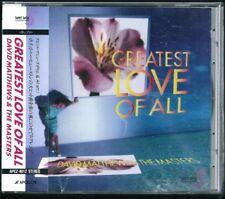 David Matthews & The Masters Greatest Love of All Japan CD w/obi APCZ-8012