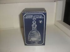 Goebel Annual Crystal Glass Bell 1St Edition <<In Box