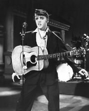 1956 Rock & Roll ELVIS PRESLEY Glossy 8x10 Photo Singing Celebrity Print Poster