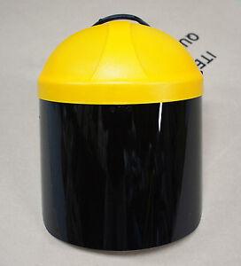 New MSO Full Face Head Shield Dark Green Welding Grinding #3, 5, 7 UV Protection