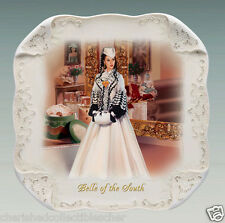 Gone With The Wind White Lace Collector Plate Belle of the South NIB