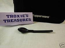 Tupperware Hang On Spoon  Baby Child Toddler Sugar Jams Black  Gadget New