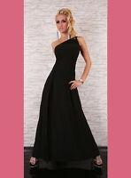 Party Club Wear Elegant Prom Maxi Cocktail Evening Dress UK size 10-12 Black