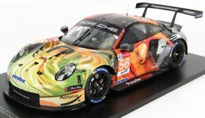 1/12 SPARK-MODEL - PORSCHE - 911 991 RSR TEAM PROJECT N 56 WINNER LMGTE AM 12S01