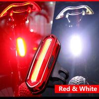 Fahrrad Radfahren USB Fahrrad Radfahren Vorne Rücklicht LED Rücklicht Warnlicht