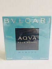 Bvlgari Aqva Marine Pour Homme by Bvlgari 3.4oz/100ml EDT nib sealed