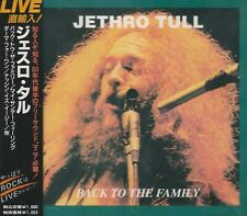 JETHRO TULL - BACK TO THE FAMILY. JAPAN