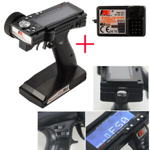 Flysky FS-GT3B 2.4Ghz 3CH LCD System Transmitter & Receiver For Car Boat RC637