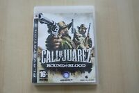 Call of Juarez: Bound in Blood (Sony PlayStation 3, 2009) - European Version VGC