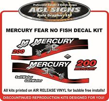 MERCURY 200 FEAR NO FISH Saltwater kit  115 150 175 200 250  optimax EFI