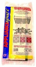 Universal Range/Cooker Hood Filters Cut to Size 2x Grease, 2x Charcoal