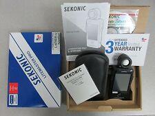 Sekonic LITEMASTER PRO L-478DR-U Light Meter (US/FCC Version) - Pocketwizard