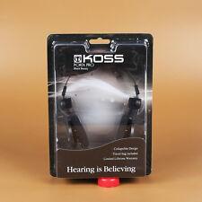 Koss Porta Pro PortaPro Headband Headphones L-Shape Plug Nylon Wire - Black
