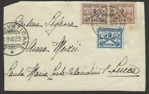 Vatican 1929 cover front