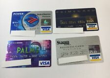 4 Expired Credit Cards For Collectors - Visa Random Collection Pulls Lot (7050)