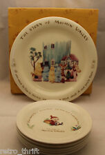 Yamaka The Story of Moomin Valley Party Set 1 Large 5 Small Plates Set Japan