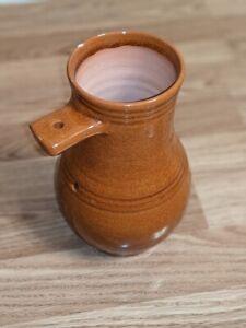 Colonial Williamsburg Restoration Redware Clay Glazed Pottery Bird Bottle House