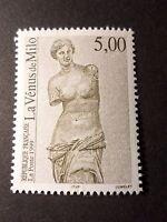 FRANCE 1999 timbre 3234, ART VENUS DE MILO, PAINTING SCULPTURE, neuf**, MNH