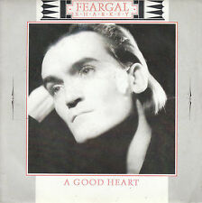 "7"" 45 TOURS FRANCE FEARGAL SHARKEY ""A Good Heart / Anger Is Holy"" 1985"
