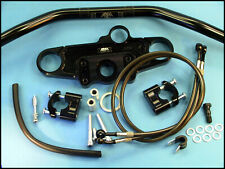 Abm Superbike Handlebars Conversion Kit Suzuki Sv 650 / 650 - S Year 03-06 Black
