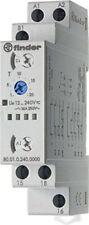 Finder Série 80 Relais Temporisé modulaire multifonction Ai-di-sw-be-ce-de