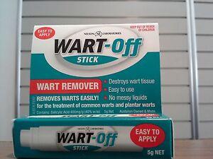 =>PRICE SMASH WARTOFF STICK WART REMOVER 5G - FOR COMMON & PLANTAR WARTS