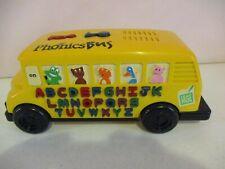LeapFrog-Phonics Bus-1996-Horn-Music-Animals-Letters-Phonics-Educational-Tested-