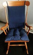 Rocking Chair Cushion Indoor Outdoor Set Blue Patio Nursery Livingroom Bedroom