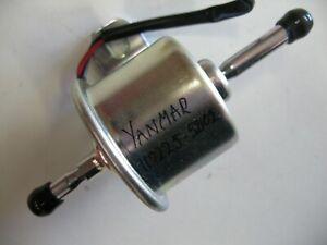 Yanmar electric 12 volt lift fuel pump 119225-52102 £89+vat Kubota Kohler Hatz