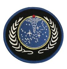 Star Trek TNG United Federation of Planets UFP Medical Patch Embroidered Iron On