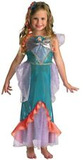 Ariel Deluxe Mermaid Disney Toddler Girls Costume 3T - 4T