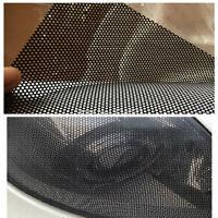 Pellicola Vinile perforato autoadesivo a maglie perforate colore nero adesivo