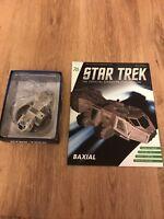 Eaglemoss Star Trek Issue 76 - Baxial, Diecast Model & Magazine