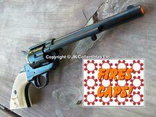 "Replica M1873 ""CAVALRY"" PISTOL Peacemaker Prop Gun BLACK Cowboy Cap Gun"