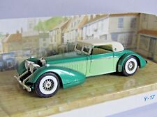 MATCHBOX MODELS OF YESTERYEAR HISPANO-SUIZA TWO TONE GREEN 1/48 Y17