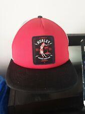 HURLEY Adjustable Flat Cap Red