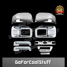 15-16 FORD F150 Fog Light Mirrors 2 Door Handles Bowls 1 Tailgate Chrome Cover