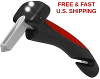 Car Assist Handle Auto Support Handle W/ LED Lights Windows Breaker Belt Cutter