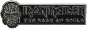 IRON MAIDEN The Book Of Souls Metal Pin Badge Rock Official Merchandise