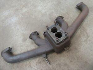 1951 1952 Pontiac Straight eight engine motor intake manifold cast iron rat rod