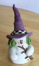 Sarah's Attic Snowonders Witchy October Snowman/Witch Hat 6409 Free Shipping