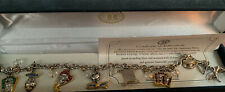 Nightmare Before Christmas Bradford exchange Charm bracelet With crystals