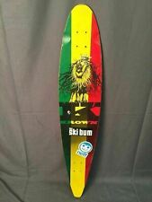 Krown Rasta Longboard City Surf Lion Skateboard