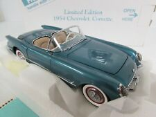 Danbury Mint Ltd. Edition 1954 Corvette 1:24 Diecast MIB GB054