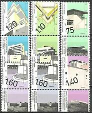 Israel Stamps MNH With Tab Year 1990 Architecture In Israel