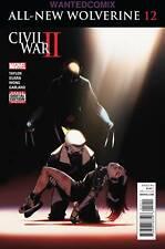 ALL NEW WOLVERINE #12 CIVIL WAR TIE IN MARVEL X-MEN COMIC BOOK NEW 1