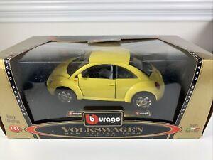 Volkswagen 1998 Beetle Burago- 1:24 Scale Die Cast