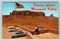 Monument Valley Tribal Park AZ, Visitors Center, Chrome Arizona Postcard